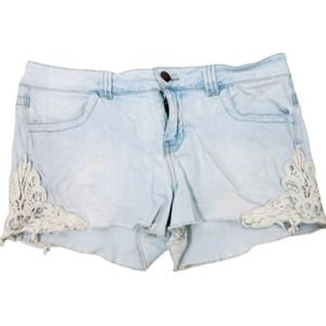 2/$20 Tinseltown Light Short Jean Shorts Low Rise